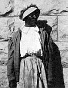 Cathay Williams, Female Buffalo Soldier. Probable the same Cathay Williams, an ex-slave who cut her hair, masqueraded as a male, and became a Union soldier. If anyone has the correct details, please share with me.