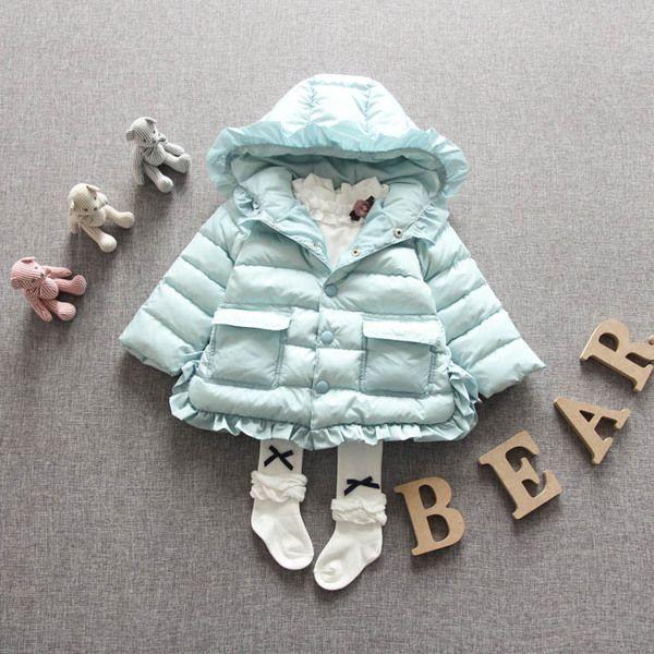 Детские куртки осень-зима из Китая :: Маленьких девочек с капюшоном куртка 2015 новых осень/зима носить пальто детей пальто она носить одежды младенца девочек.
