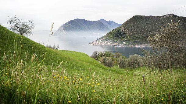 Panorama dalla Via Valeriana - Itinerari Brescia - Fotografia di Laura Gatta
