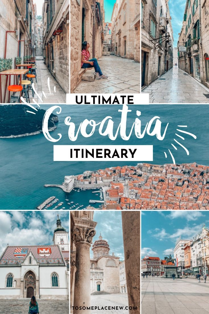 Ultimate 7 Days In Croatia Itinerary You Should Steal In 2020 Croatia Itinerary Croatia Travel Guide Croatia Travel