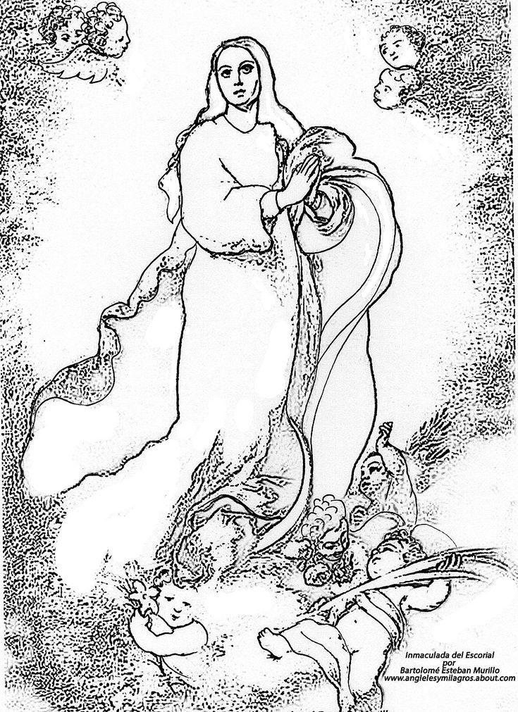Inspirate A Pintar A La Virgen Maria Como Parte De Tu Practica