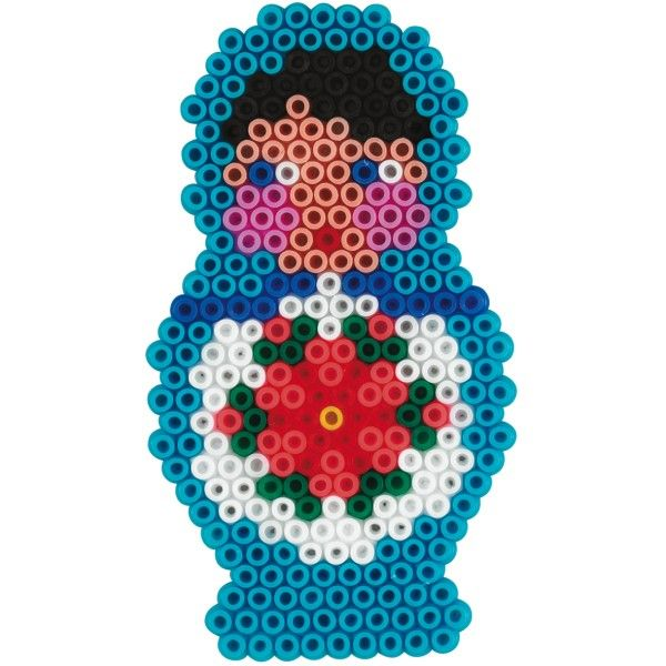 Matryoshka Hama Mini perler