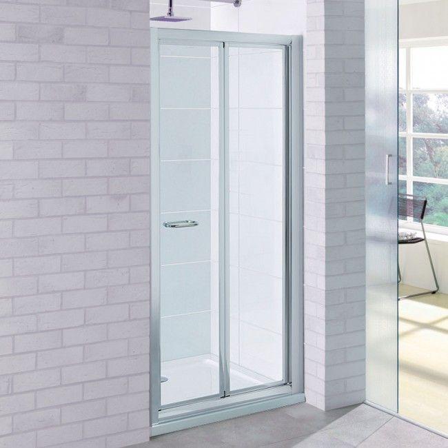 Best 25 bifold shower door ideas on pinterest for 1750 high shower door