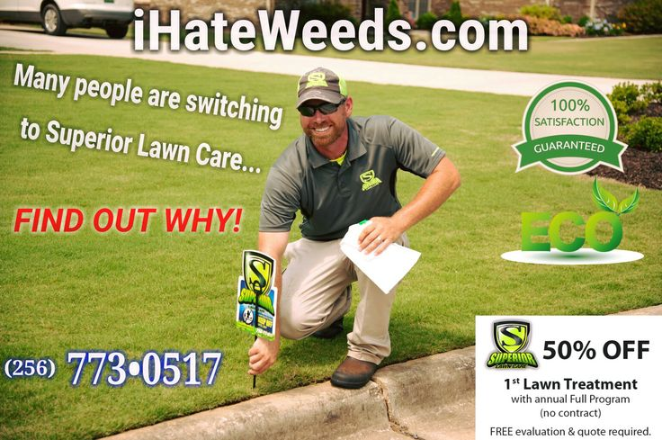 Got TruGreen? Fired them and maybe hired Scott's Lawn Care Service? Now you got TruGreen back! We're sorry to hear that happened to you and thousands of other North Alabama residents and businesses. Go Green! CONTACT Us at iHateWeeds.com and switch from a synthetic, all chemical lawn care program to our BioNutritional Lawn Care Program with real, living and breathing organisms applied into your soil throughout the growing season. We include this at no extra charge in the program. Lush Lawns!