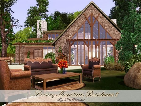 Luxury Mountain Residence II by Pralinesims - Sims 3 Downloads CC Caboodle