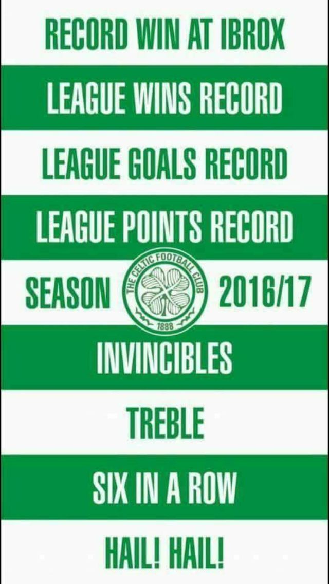 And there's far more to come from these Bhoys!!
