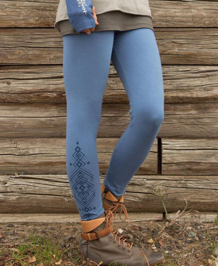 SALE! Mystical Geometry Organic Cotton Leggings
