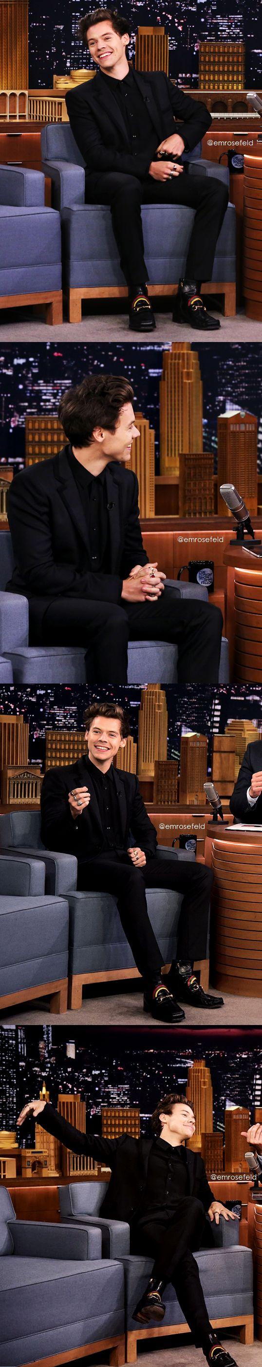 Harry Styles | The Tonight Show 7.19.17 | emrosefeld |