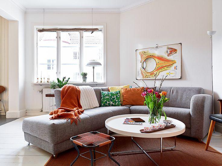 copenhague-appartement-vintage-canapé-coussins-imprimés-6