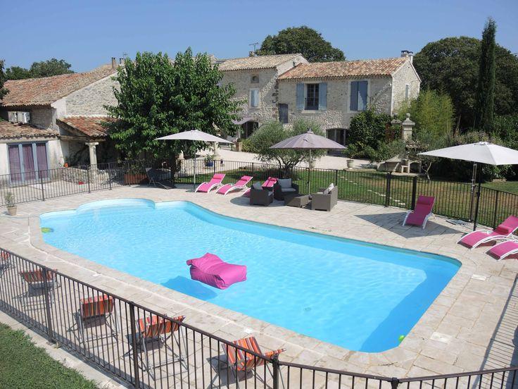 21 best Location gîte de groupe avec piscine dans le Gard provençal - Gites De France Avec Piscine Interieure