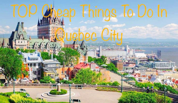 Bonjour!  Do you have a small budget and you want however go on a trip? First, stop in Quebec City! Lot's of things to do for free this summer.