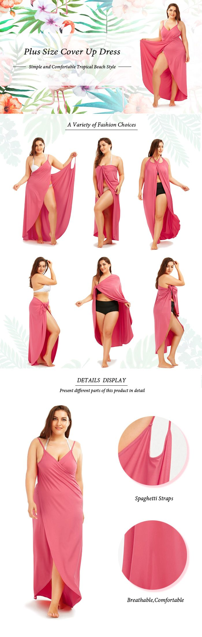 How to wear a cover up dress with steps