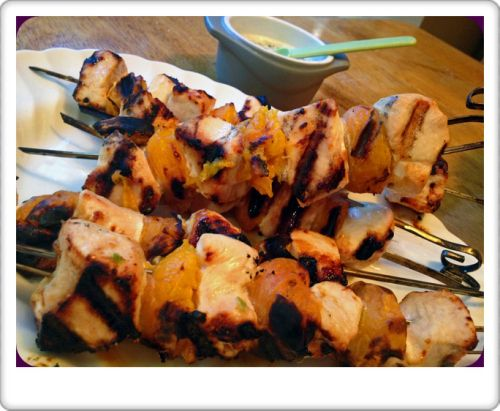 Chicken Apricot Skewers | Chicken and Turkey Recipes | Pinterest