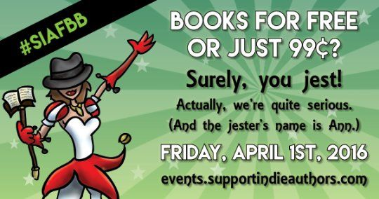 Goodreads | Support for Indie Authors - SIA Group Promos: #SIAFBB April 1st event Promo Materials (showing 1-50 of 78)