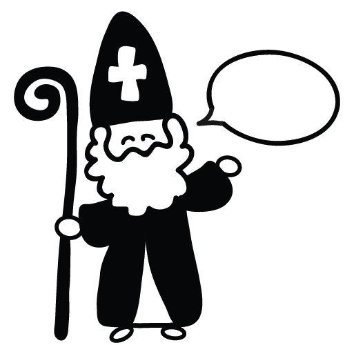 Stempel Sinterklaas