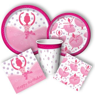 Ballet party supplies from www.DiscountPartySupplies.com