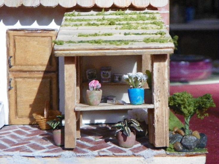 78 best images about polymer vegetable garden on pinterest for Mini potting shed