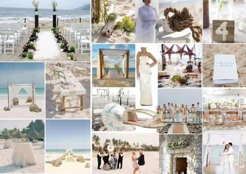 Beach Wedding Ideas Decorations That Set The Mood For A Seaside Affair Sampleboard