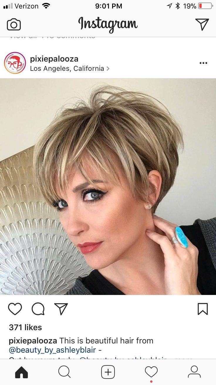 best Fine Hair Styles images on Pinterest Hairdos Short