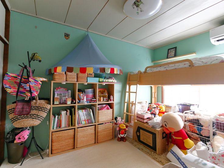 和室を外国の子供部屋の雰囲気に