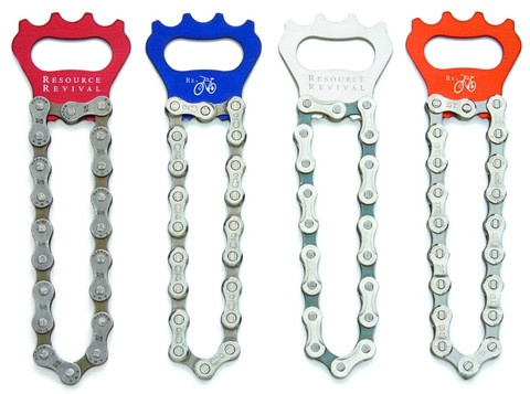 Bike Chain Bottle Opener by Resource Revival