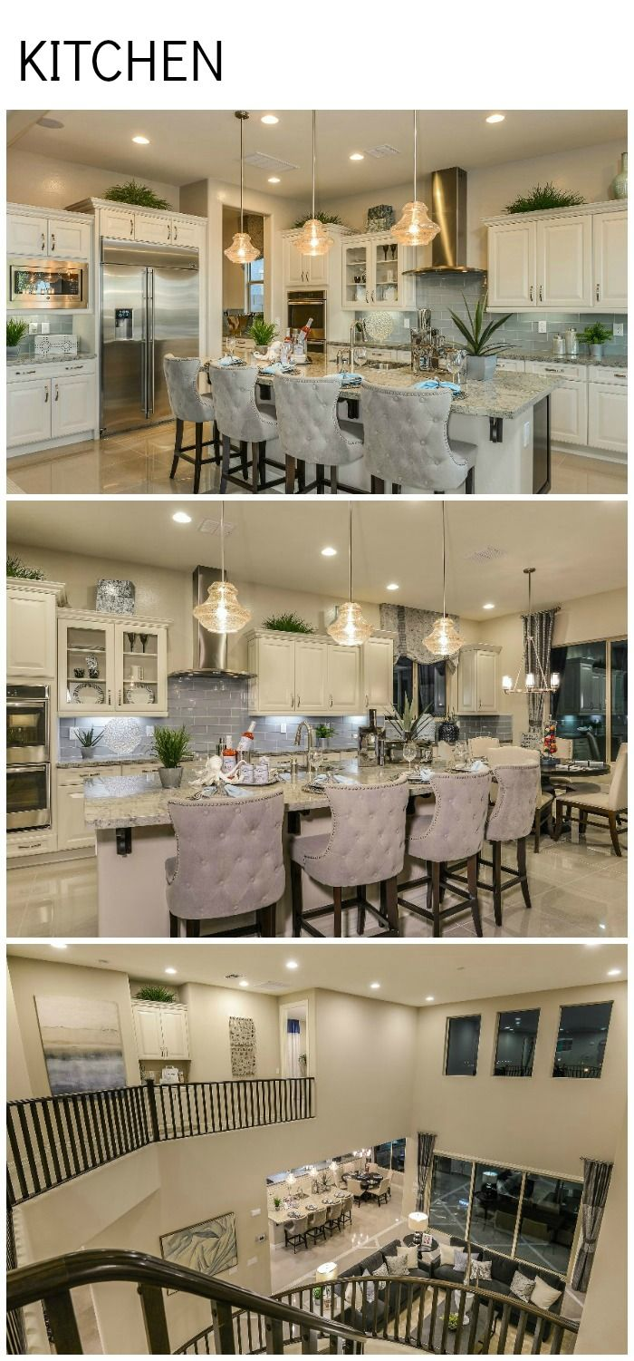 Island chair ideas; some great kitchen elements