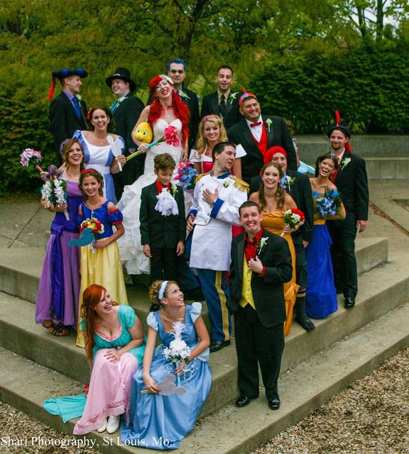 The Most Insanely Detailed Disney-Themed Wedding Ever