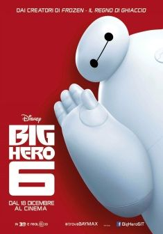 Big Hero 6, dal 18 dicembre al cinema.