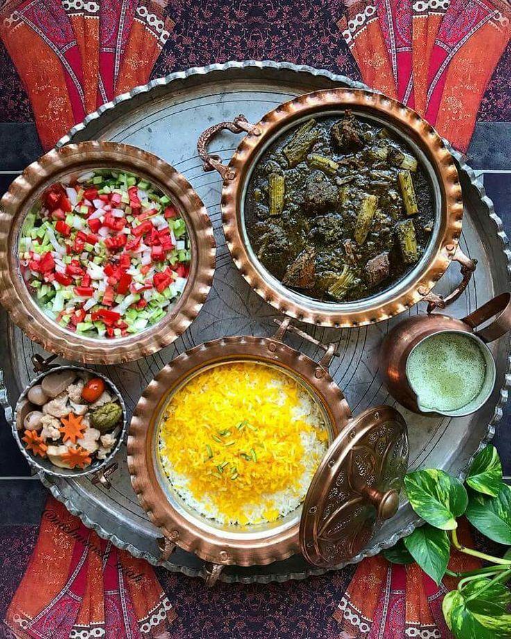 Khoresht Karafs, Persian Food