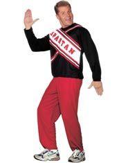 Male Spartan Cheerleader Costume