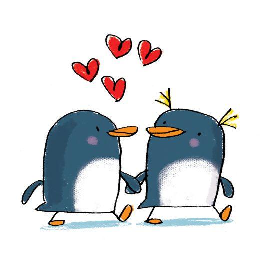 penguin love | Flickr - Photo Sharing!