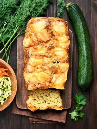 Gâteau de courgettes facile - Recette de cuisine Marmiton : une recette