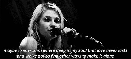 Hayley Williams song lyric gifs - Google Search