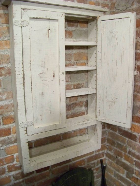 Best 25 Rustic Medicine Cabinets Ideas On Pinterest
