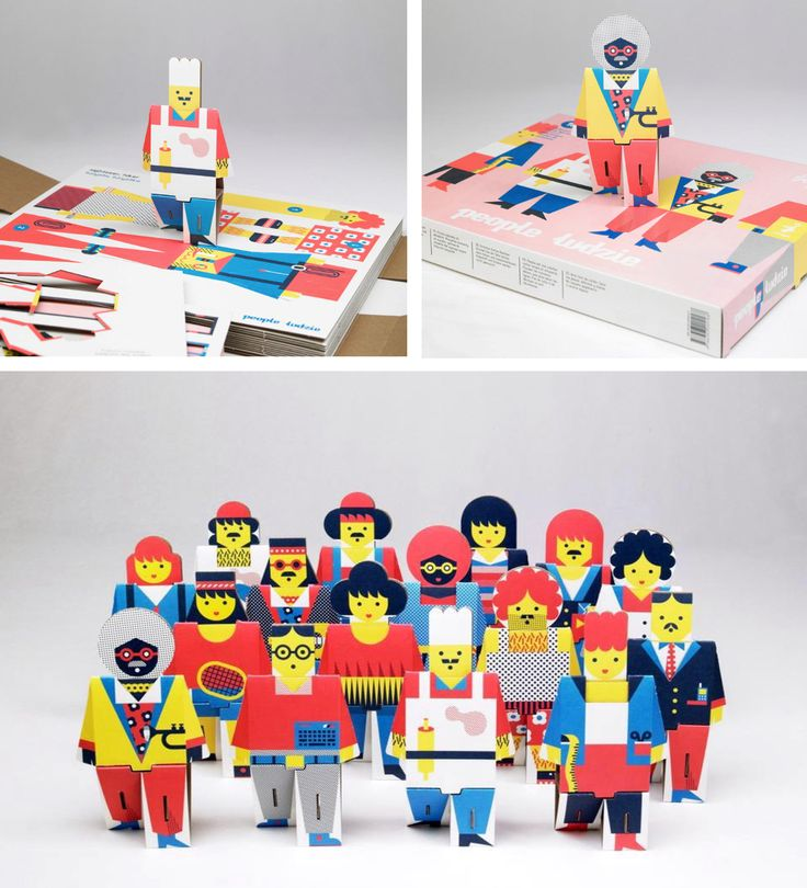 Paper Toys by Ringo