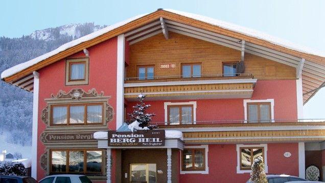 Pension Bergheil in Kaprun - günstige Angebote - Bewertung www.winterreisen.de