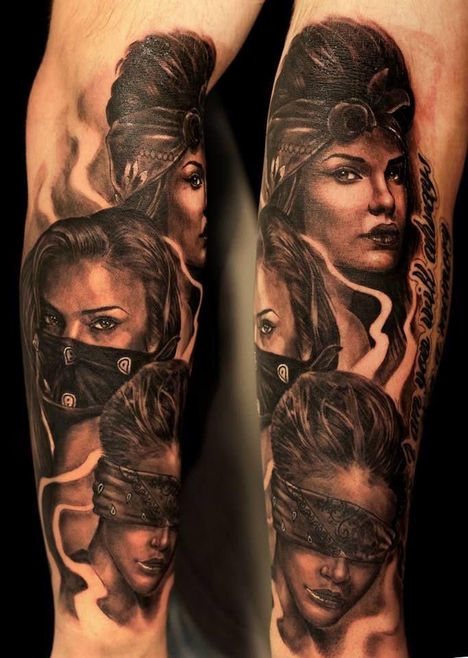 Hear See Speak No Evil Tattoo : speak, tattoo, Tattoo