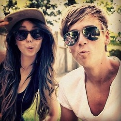 Zoella and Joe Sugg