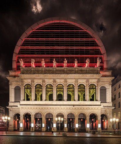 Opéra Nouvel - Lyon, France  [previous pinner's info]