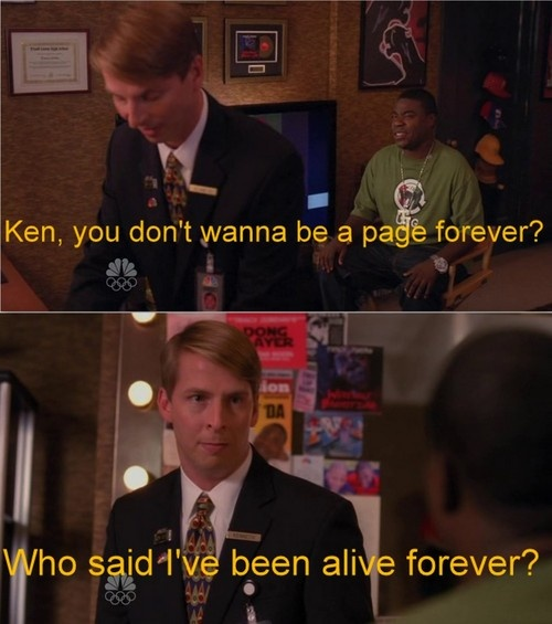30 Rock. Kenneth and Tracy