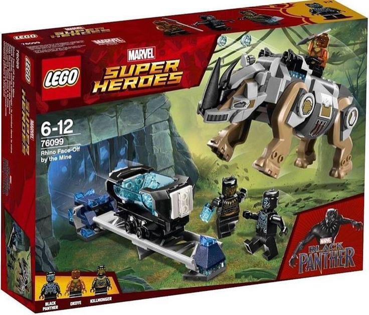 LEGO Black Panther 2018 sets revealed