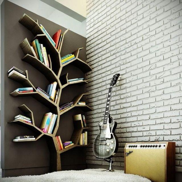 Great bookcase idea