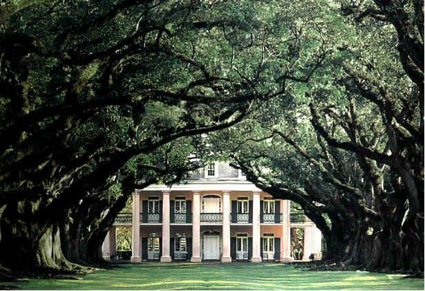 Oak Alley Plantation, Louisiana: The haunts here include a daughter of the house who, while racing to evade a drunken suitor, fell and gashed her leg, leading to amputation of the limb.