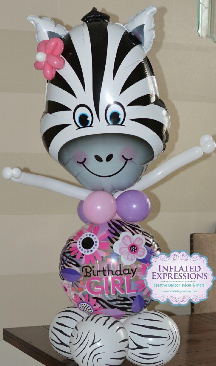 Zebra Balloon Birthday Bouquet Expression 12 best