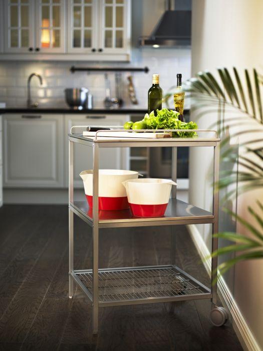 UDDEN roltafel | #IKEA #DagRommel #keuken #tafel #aanrecht