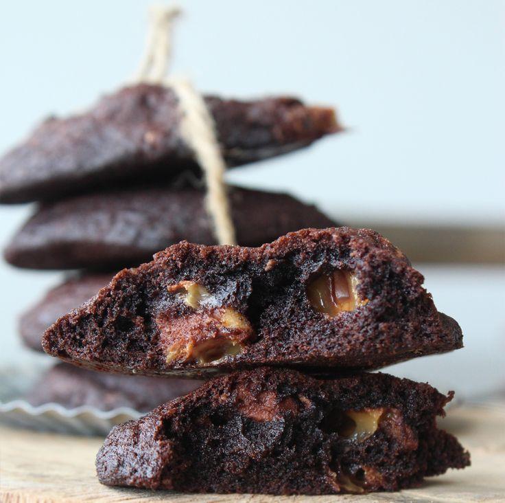 Twix-cookies a la Cute Carbs