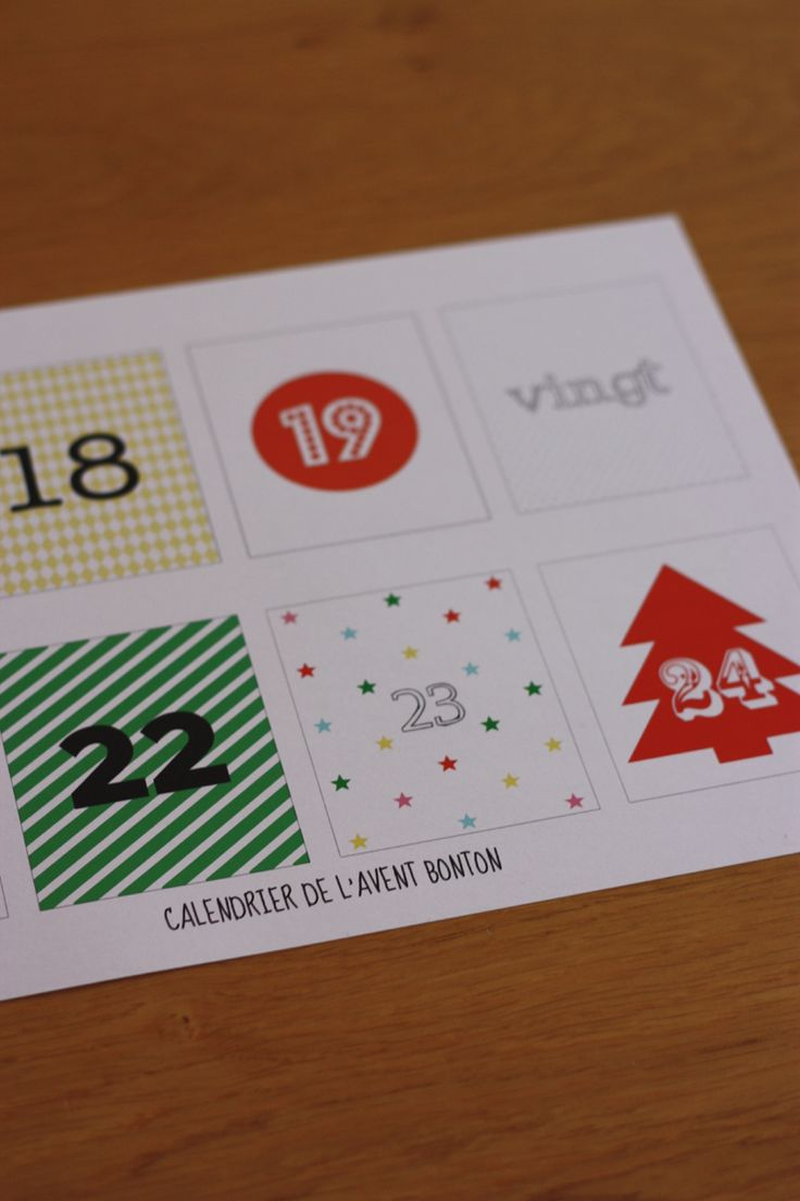 265 best Calendrier de l Avent   faire soi mªme images on Pinterest