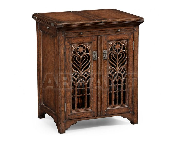 Винный шкаф коричневый Jonathan Charles Fine Furniture 493517 , каталог корпусной мебели: фото, заказ на ABITANT , Москва