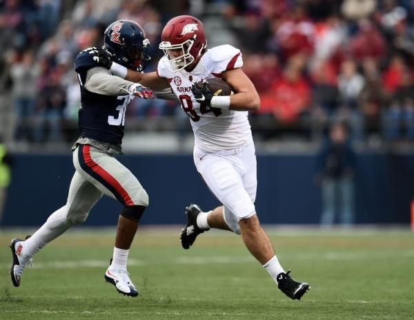 Arkansas 17 LSU 0 | Arkansas stuns Ole Miss in overtime after crazy fourth down lateral ...