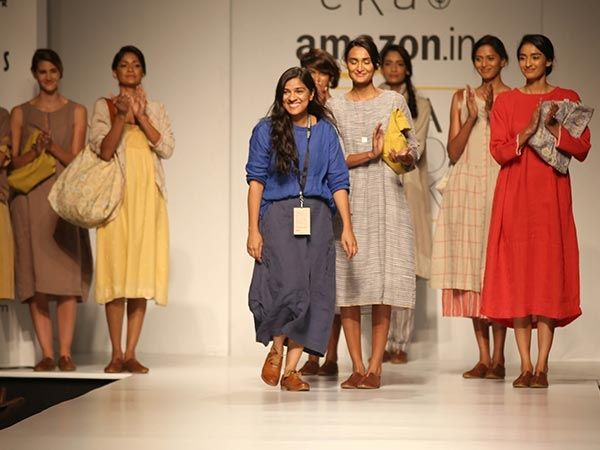 The beautiful tale by ‪#‎RinaSingh‬ ‪#‎EKA‬ at ‪#‎AIFWSS16‬ ! Take a look.